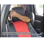 How To Install The Clazzio Car Seat Cover  YouTube