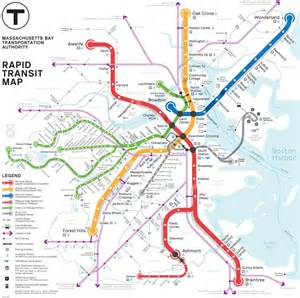 Map Of Boston T by Mbta Commuter Rail Map Pdf Www Galleryhip Com The