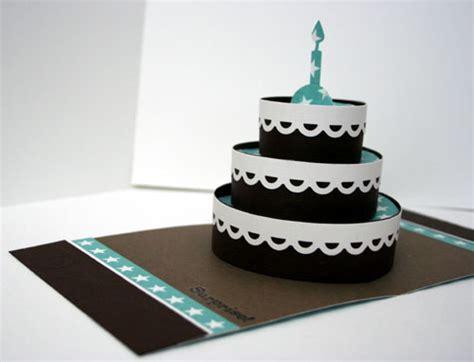 3d pop up cake card template 3 d pop up birthday cards scrapbook cards today magazine