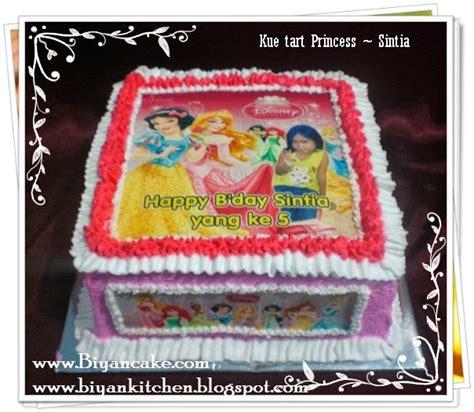 Pesanan Sintia biyancakes pesan kue ulang tahun anak di bekasi kue tart princess sintia