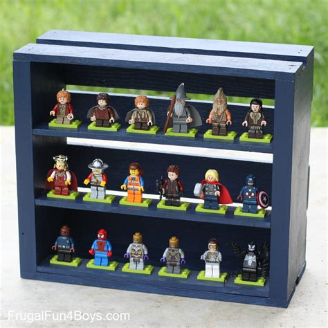 7 figure display 50 lego building projects for frugal for boys