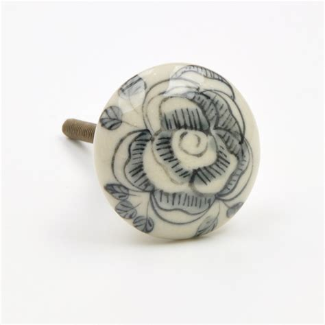 Painted Ceramic Knobs by Painted Knob Painted Ceramic Knobs