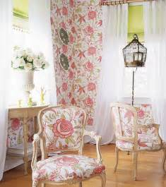Patterned Armchair Design Ideas Design Interior Country Pink Floral Wall Decor And Pink Floral Chair Interior Design