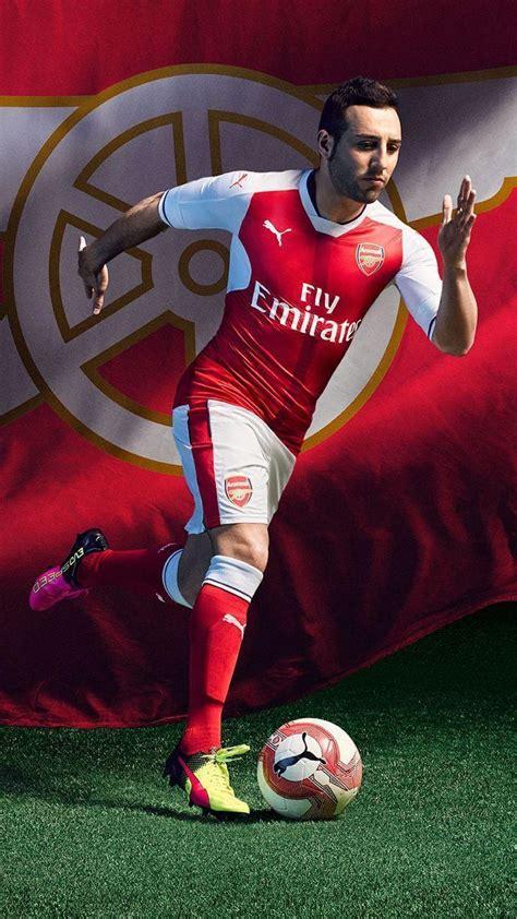 Soccerstarz Arsenal Cazorla Home Kit 2016 2017 arsenal wallpapers 2017 wallpaper cave