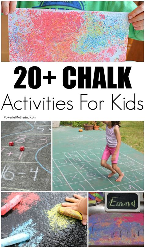 fun learning activities for 1845908929 20 chalk art ideas and learning activities for kids