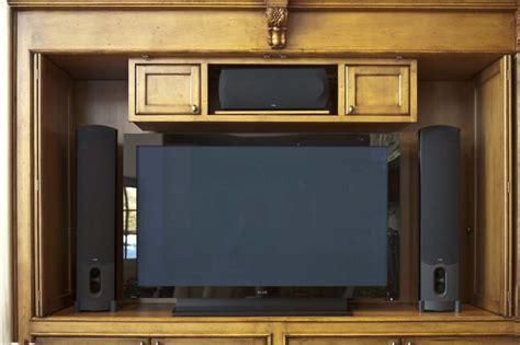 Tv Cabinets With Doors Door Ideas For Wide Screen Tv Cabinets