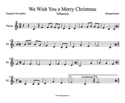 la castellonense ver 243 nica cantos a las puertas del premio we wish you a merry christmas partitura f 225 cil flauta
