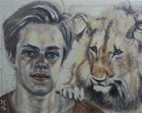 Christian Two bild lions freiheit stacheldraht l 246 we aga cela bei