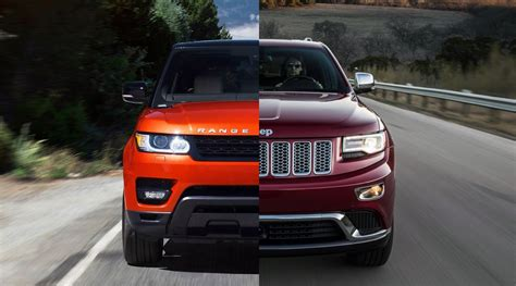 land rover jeep 2014 2014 jeep srt vs land rover sport autos post