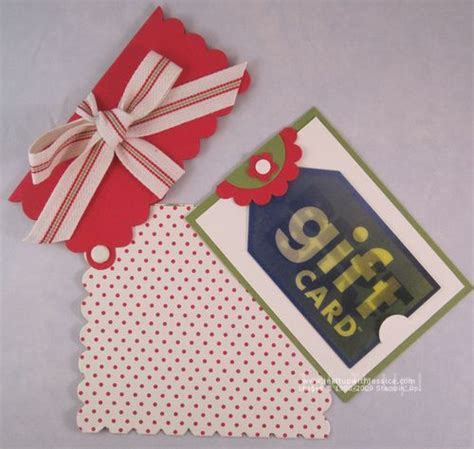 Square Up Gift Cards - scallop square gift card holder ink it up with jessica card making ideas