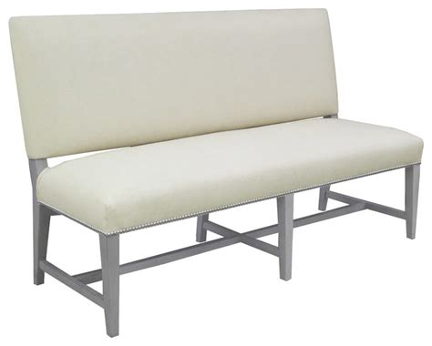 modern banquette bench soho banquette bench modern dining benches by montage home