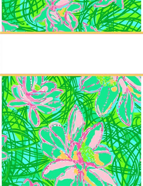 vera bradley printable binder covers 32 best images about lilly pulitzer vera bradley binder
