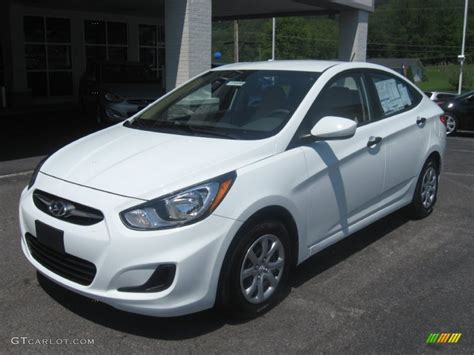 Accent L by Century White 2012 Hyundai Accent Gls 4 Door Exterior