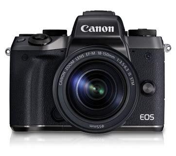 Canon Eos M5 Kit Ef M18 150 Is Stm Eos M5 Kit Ef M18 150 Is Stm Canon Thailand Personal