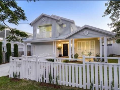 renovated queenslander facade house