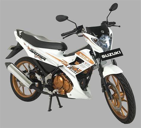 Striping Motor Satria F 150 2015 Hitam Gold tilan suzuki satria fu 150 white fighter 2015 rasa