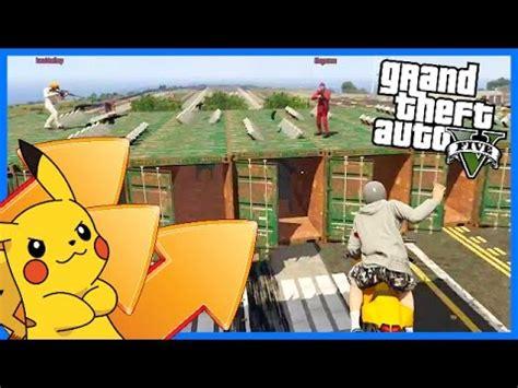 pikachu vs bikers! gta v modded gamemode! (gta 5 funny
