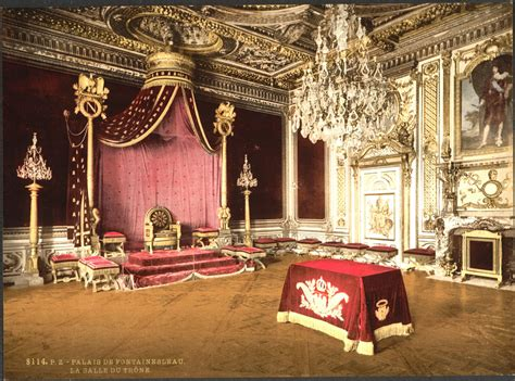 the throne room the throne room fontainebleau palace