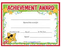 free printable clean room award certificates