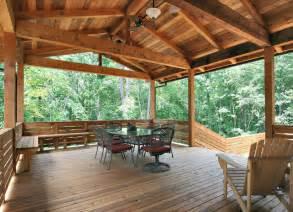 Sunroom and a deck beam wraps cedar porch beam covers outdoor party