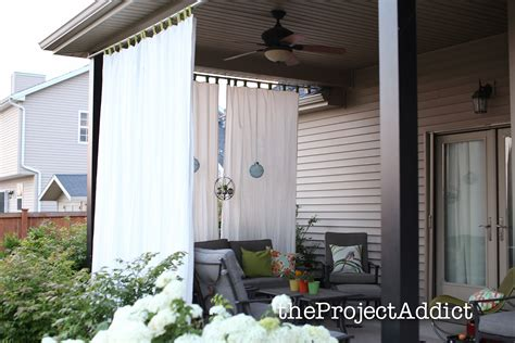 Curtains On Patio Outdoor Curtains For Patio South Africa 187 Design And Ideas