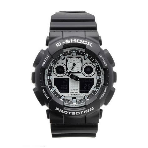 Casio G Shock Ga 100bw casio g shock ga 100bw 1a mens black white free shipping dealextreme