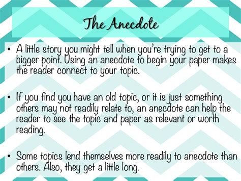 Exle Of An Anecdote In An Essay by Exle Of An Anecdote In An Essay My Tear