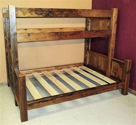 Barnwood Bunk Bed Barn Wood Bunk Bed Barn Wood Furniture Rustic Furniture Log Furniture By Vienna Woodworks