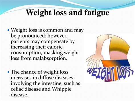Floating Stool Weight Loss by Malabsorption Syndromes