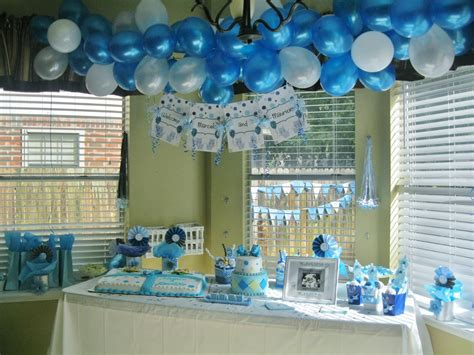 Boy Baby Shower Decoration Ideas by Polkadots Monkeys Cakes Planner
