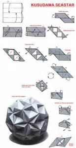 Origami Kusudama Diagrams - adobracya kusudama diagram seastar origami