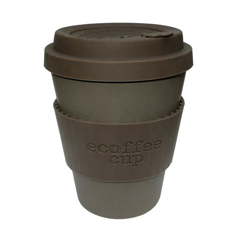 Eco Friendly Reusable Coffee Cup With Drip Proof Lid 340ml