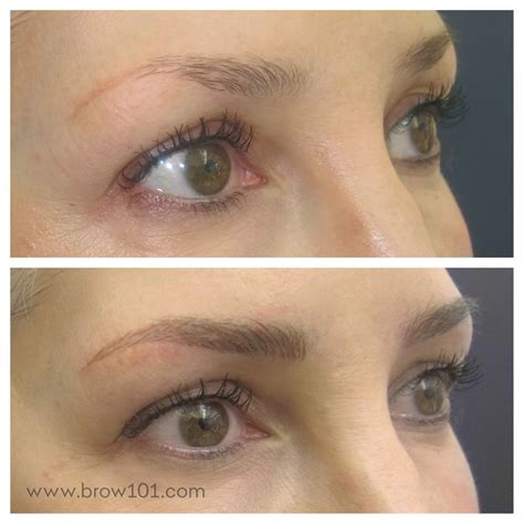 ashley perfect tattoo eyebrow pencil before and after reworking an old tattoo with