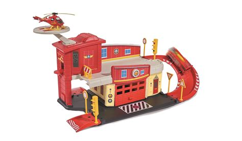 rescue centres fireman sam rescue centre standard packaging dickie toys ebay