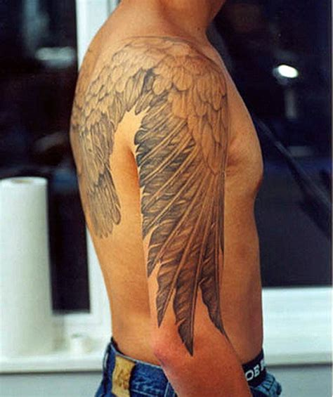 angel shoulder tattoo 49 beautiful shoulder tattoos