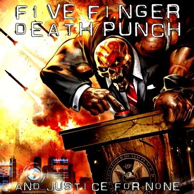 five finger death punch blue on black five finger death punch and justice for none review your