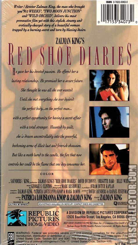 shoe diaries shoe diaries vhscollector your analog