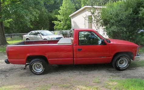 how things work cars 1994 gmc 2500 spare parts catalogs buy used 1994 gmc sierra work pickup truck red in conway