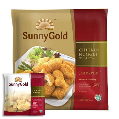 Chicken Nugget 500g jual gold chicken nugget original 500g harga murah