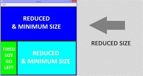 java layout auto resize how to dynamically control auto resize components in java