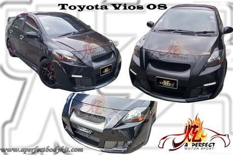 Bemper Vios 1 By Autolia toyota vios 08 front bumper toyota vios jb johor bahru