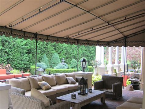 Patio Awning Nottingham Residential Project Gallery Kreider S Canvas Service Inc