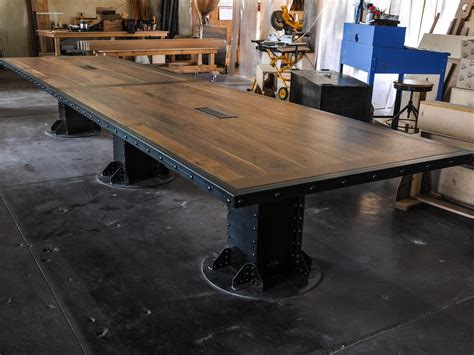 20 conference table vintage industrial conference table vintage industrial