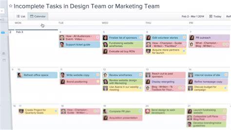 Calendar Visualization Asana Adds Calendar Visualization Gigaom Research