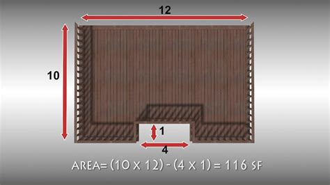 10 x 10 square feet how to measure square footage 11 steps with pictures