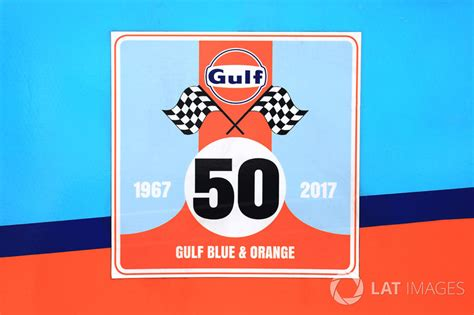 gulf racing logo gulf racing logo at 24 hours of le mans