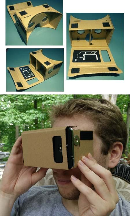 Cardboard Reality Smartphone Silver Magnet cardboard article about cardboard by the