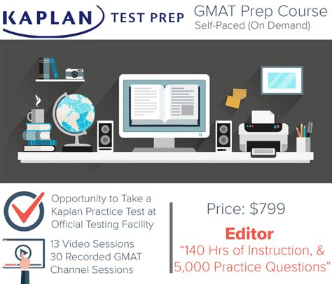 Kaplan Mba Prep by Kaplan Gmat Prep Self Paced Course 1 Test Prep Store