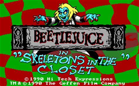 Beetlejuice Skeletons In The Closet adventures of beetlejuice skeletons in the