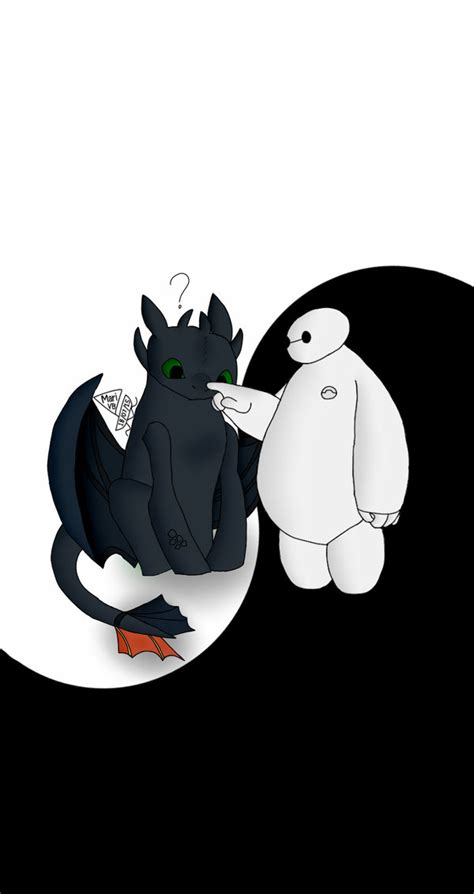 baymax wallpaper black background toothless and baymax www pixshark com images galleries